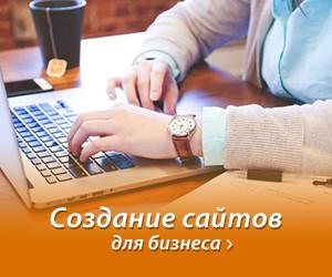 Создание сайтов для бизнеса студия Апельсин.