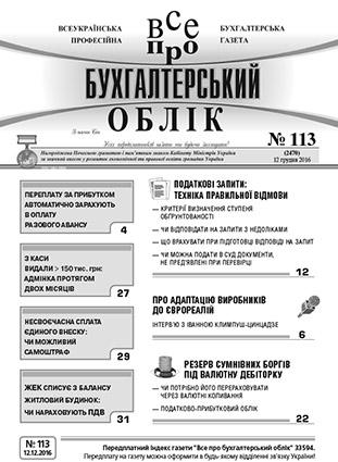 № 113 за 12.12.16